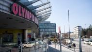 Das Olympia-Einkaufszentrum: ein Schauplatz des Amoklaufs