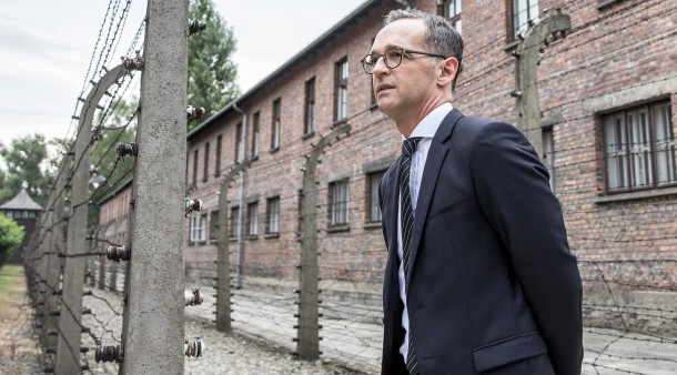 """c981485fd46ff Maas besucht Auschwitz   """"Unsere Verantwortung endet nie"""""""