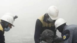 Aufnahme von Weißhelmen bestätigt