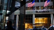 Das Büro von Blackrock in New York: Der Fondsriese bleibt der größte Vermögensverwalter der Welt.