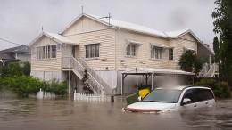 Australien droht Jahrhundertflut