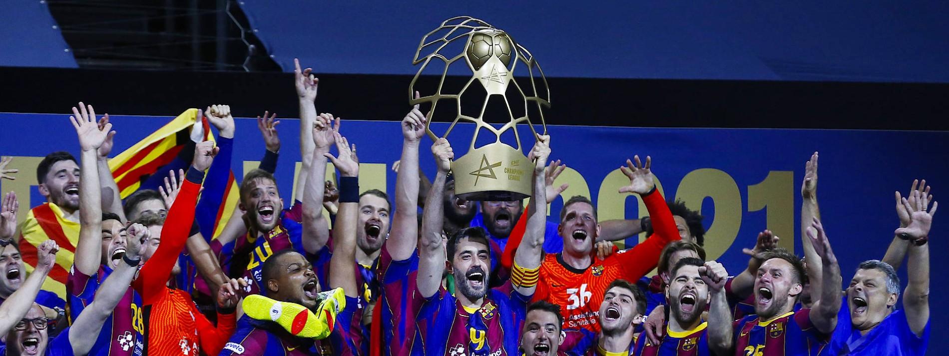 Handballer des FC Barcelona gewinnen die Champions League