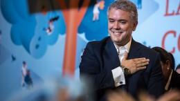 Konservativer Duque gewinnt Wahl in Kolumbien