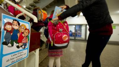 Tschüß, Mami: Irgendwo ist Schluss, auch in der Grundschule