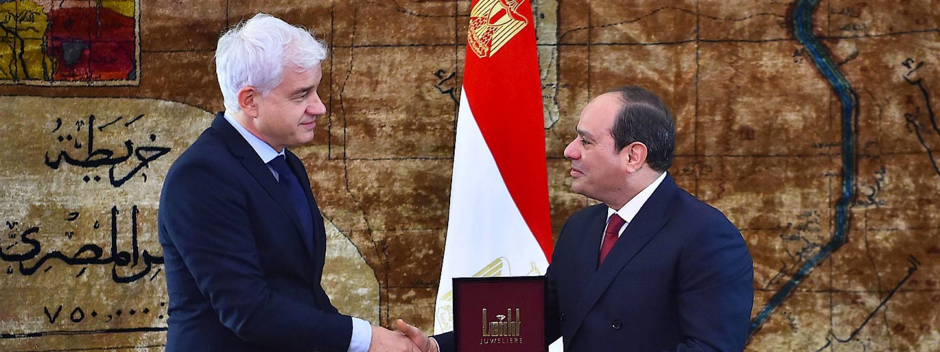 Doch kein Orden für al Sisi