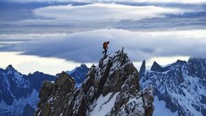 Ein Bild von den Bergen