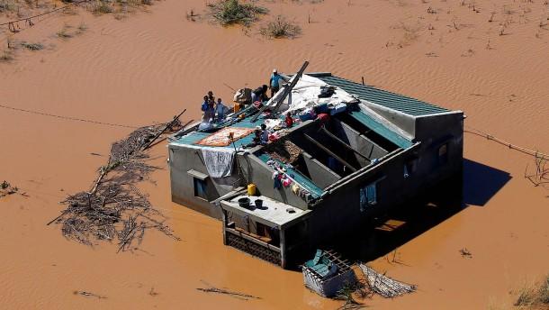 Katastrophe im Südosten von Afrika