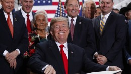 Trump lässt zwei Naturschutzgebiete in Utah schrumpfen