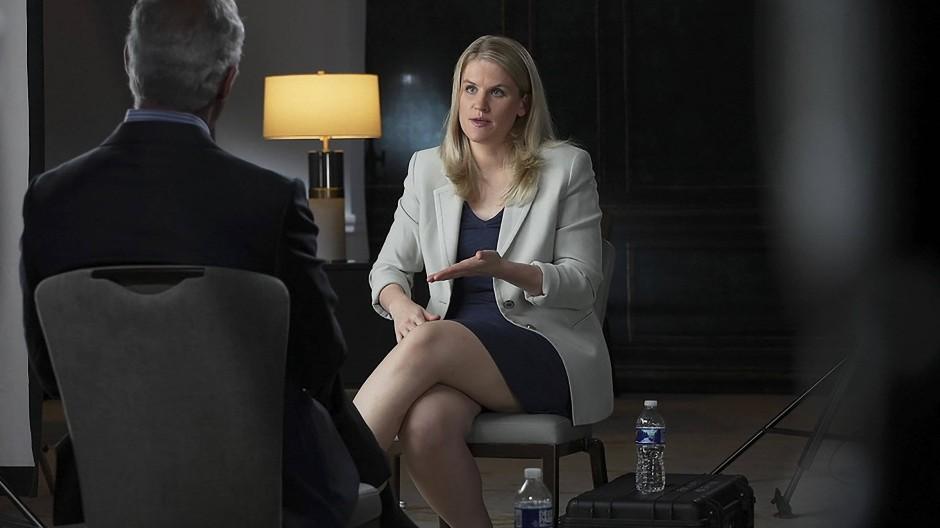 """Frances Haugen im Interview der CBS-Sendung """"60 Minutes"""""""
