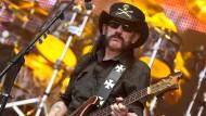 Motörhead-Gründer Lemmy Kilmister ist zum zweiten Mal Namensgeber für ein Fossil. (Archivfoto)