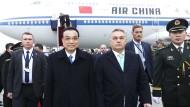 Es geht ums Geld: Chinas Premier Li Keqiang und Ungarns Viktor Orbán im November in Budapest