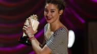 Schauspielerin Shailene Woodley räumt ab