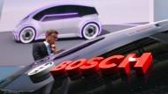 Bosch arbeitet an der vernetzten Mobilität, damit sich der gewöhnliche Fahrer nicht auf sein Popometer verlassen muss.