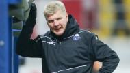 Wird es nun eng für Paderborns Trainer Stefan Effenberg?