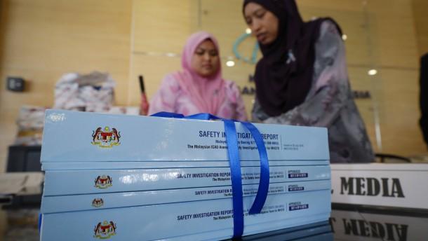 Rätsel von Flug MH370 weiter ungeklärt