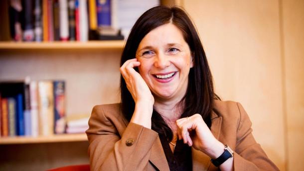 Katrin Göring-Eckardt - die Spitzenkandidatin der Grünen/Bündnis 90 in Berlin im Gespräch mit Ralph Bollmann