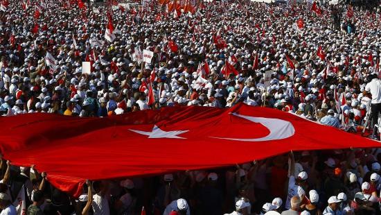 Ein Protestmarsch von Ankara nach Istanbul