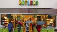 Butlers muss 19 Filialen schließen