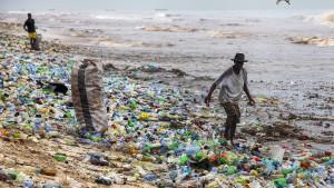 Plastik am Pranger