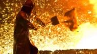 Stahlindustrie in Europa unter Druck