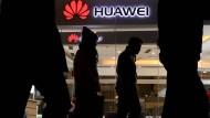 Huawei-Shop in Peking