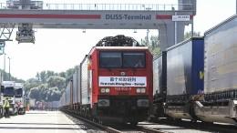 100.000 Container, 12.000 Kilometer – und acht Zeitzonen