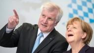 Merkel und Seehofer in Ingolstadt