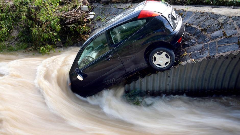 Wenn Bäche zu reißenden Flüssen werden
