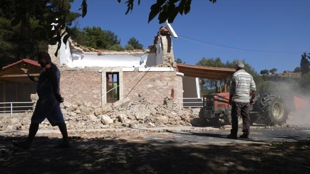 Starkes Erdbeben auf Kreta fordert mindestens ein Menschenleben