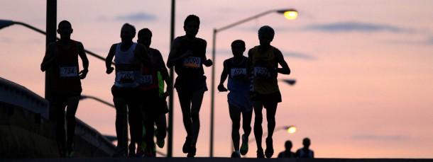 Läufer im Abendlicht: Trend zur Optimierung