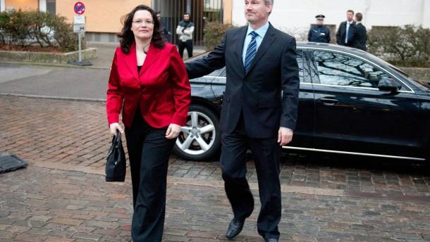 Sozialministerin Nahles und Ehemann Frings trennen sich