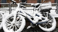 Das Fahrrad kann erst einmal stehen bleiben – erst zur Wochenmitte soll wieder milder werden.