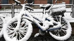 Wie lange bleibt der Schnee noch?
