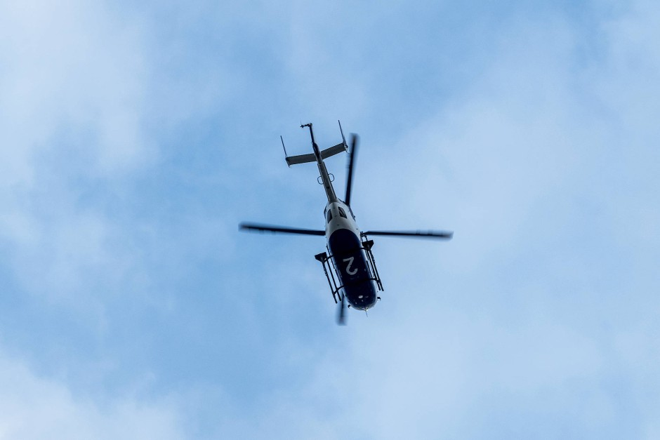 Hubschrauber Kreist über Chemnitz Aktuell