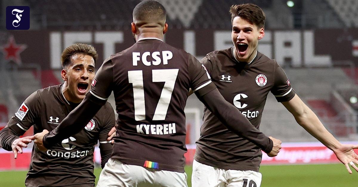 0:1 gegen St. Pauli: Spektakuläre Schlussphase bei Hamburger Derby-Pleite