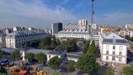 Das Hauptquartier des französischen Auslandsgeheimdienstes DGSE in Paris