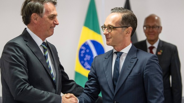 Bolsonaro sagt, was Maas hören will