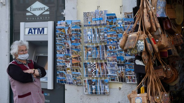 Portugal rechnet mit schweren Wirtschaftseinbußen