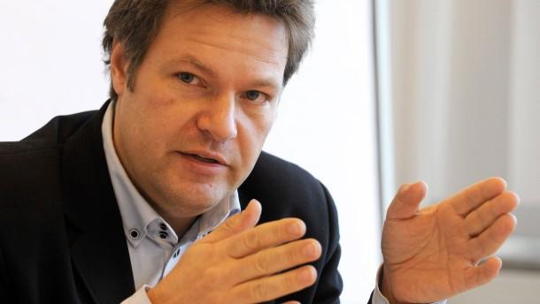 Umwelt- und Landwirtschaftsminister Robert Habeck