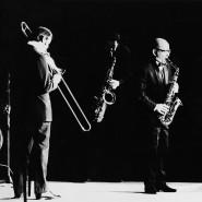 Jazz made in Frankfurt: Das Albert-Mangelsdorff-Quartett beim Deutschen Jazzfestival im März 1968.