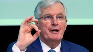 Barnier warnt vor chaotischem Ausstieg der Briten