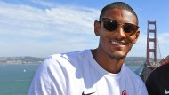 Die Golden Gate Bridge kennt er nun, die Bundesliga noch nicht: Eintracht-Neuzugang Sebastien Haller