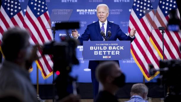 Biden will Anfang August sein Running Mate auswählen