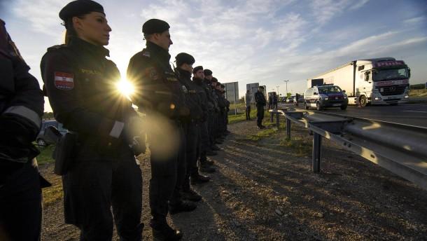 Österreich hält wegen Deutschland Grenzschutzübung ab
