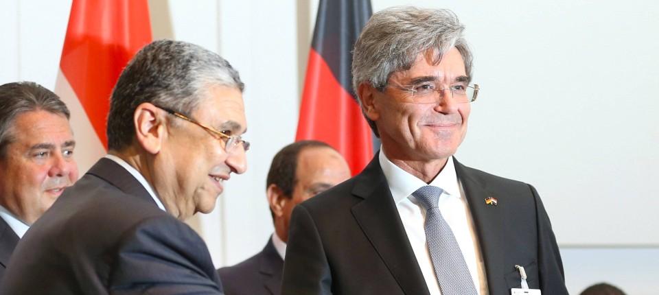 Siemens erhält Milliarden-Aufträge in Ägypten
