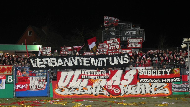 Fu Ballfans In Mainz Die Ultras Inland Faz