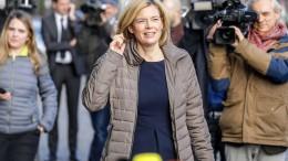 Klöckner rechnet erst 2018 mit Gesprächen mit der SPD