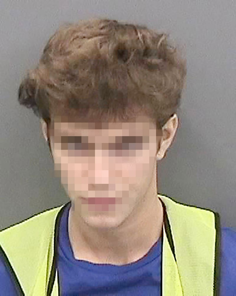 Graham C., der 17 Jahre alte Hauptverdächtige