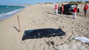 Dutzende Leichen in Libyen geborgen