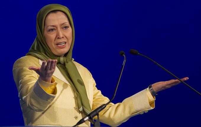 Maryam Rajavi in Paris (Archivbild aus dem Jahr 2012)